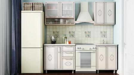 Кухонный гарнитур Легенда 3 (1,5м)