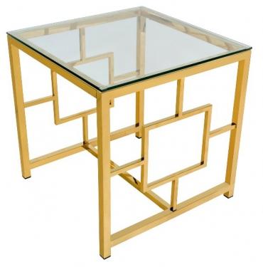 Журнальный столик Бруклин золото