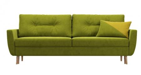 Диван Арис зеленый велюр