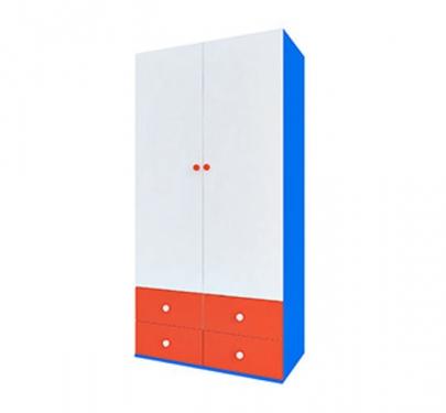 Шкаф широкий 2 двери серия Пожарный