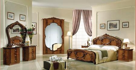 Спальня Олимпия орех с 4-ех дв шкафом комплект