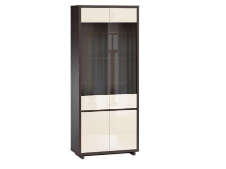 Шкаф-витрина 4 двери Аспен
